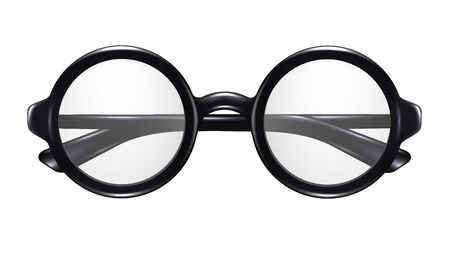 round face: Realistic Glasses