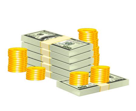 pile of cash: Realistic Money