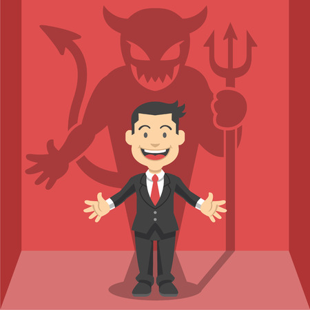 evil: Businessman\