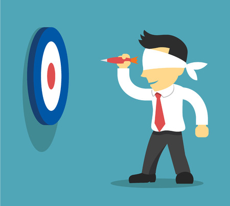 Business strategy. Vector flat illustration