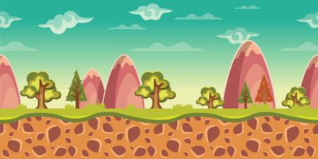 aplication: Vector game background