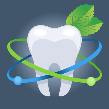 fluoride toothpaste: Dentistry vector illustration