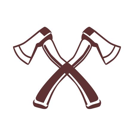 Crossed axes icon Vector