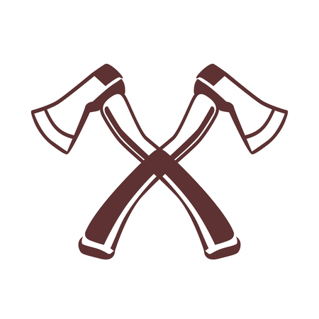 axes: Crossed axes icon