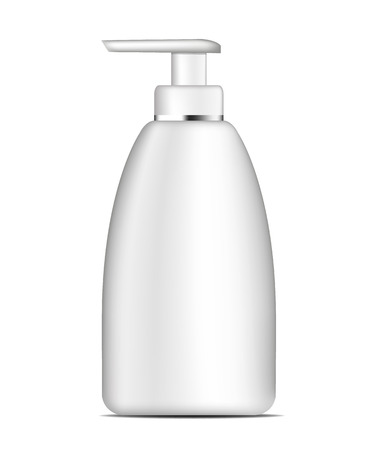 aftershave: Vector realistic bottle template