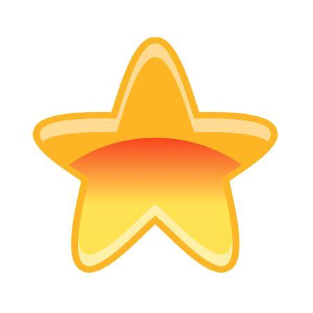 xp: Game star vector illustration