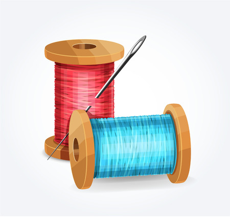 hank: Vector thread icon illustration;