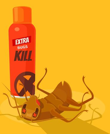 Spray anti insect Dead bug.