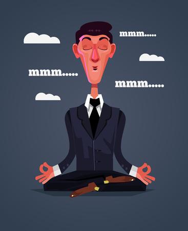 Meditation position.