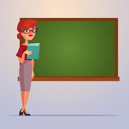 学校の先生の文字。