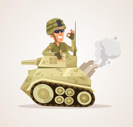 Tank man character.