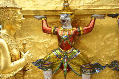 doctrine: Wat Phra Kaew is the Grand Temple in thailand.