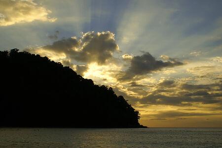 sunrises: this is a Sunrises in Surin Islands