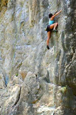 phra nang: This is cliffs on the huge headland between Hat Rai La East and Tham Phra Nang, as well as other nearby islands provide world-class rock climbing facilities against a stunning backdrop of the sea with approximately 700 sport routes of mid to high difficul