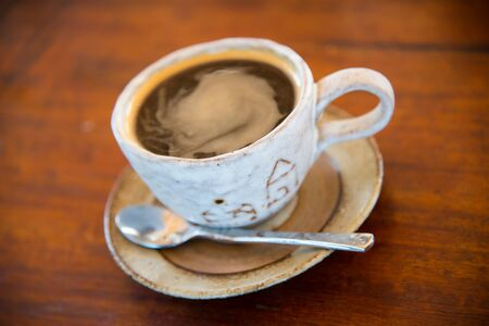 This is a picture of are mug coffee.