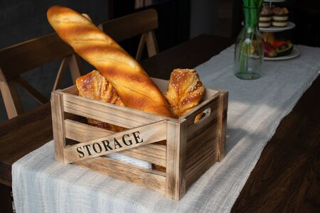 A bakery is an establishment that produces and sells flour-based food baked in an oven such as bread, cookies, cakes, pastries, and pies.
