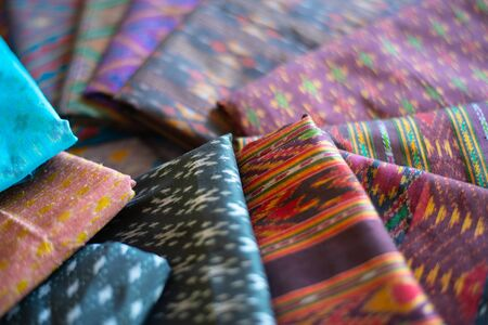 Thai silk is produced from the cocoons of Thai silkworms.