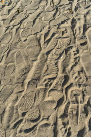 spoor: Sea sand sun beach for relax in holiday Thailand trail track spoor