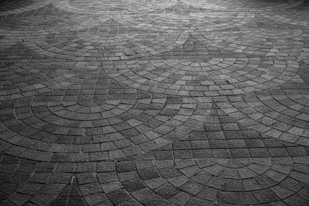 europe: stone floor ,street ,tile Europe style Stock Photo