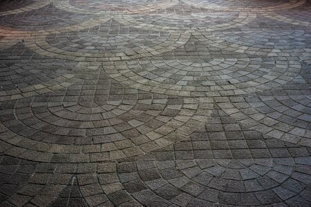 stone floor ,street ,tile Europe style