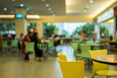 tiendas de comida: restaurante de comida bokeh fondo borroso
