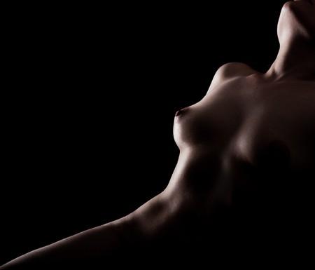 pose erótica de mujer desnuda Foto de archivo - 7130901