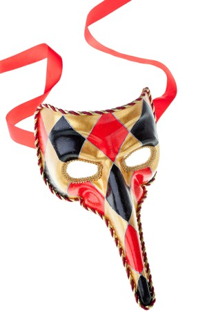 venetian  mask isolated on a white background