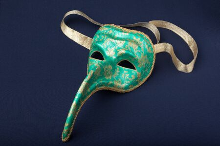 italy mask on a black background Stock Photo - 7226215