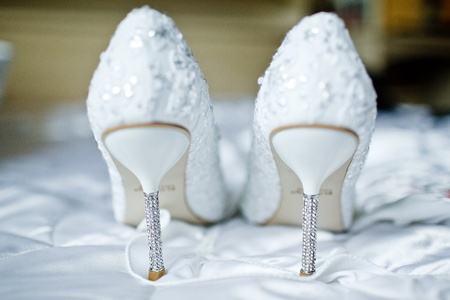 wedding accessories: Wedding shoes for the bride
