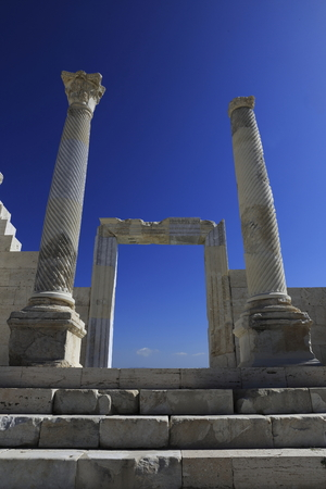 Ancient City of Laodikeia, Denizli. Hellenistic city, BC Seleucid King II. Established by Antiokhos on behalf of his wife Laodike