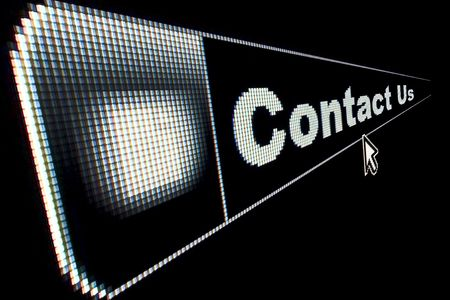 contact: Contact Us concept for an internet web page