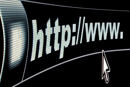 Internet WWW concept HTTP URL address