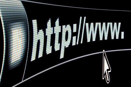 Internet WWW concept HTTP URL address