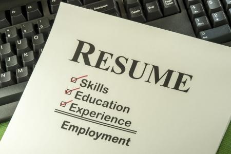 成功した候補者の履歴書は雇用を見つけるためのスキル、教育、経験が必要です。