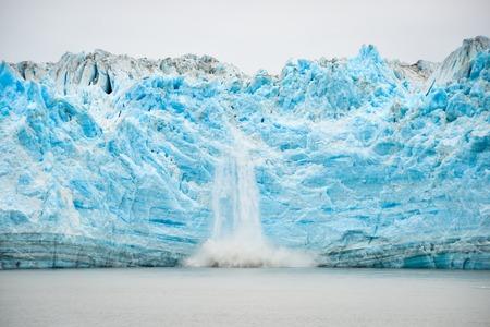 Hubbard ghiacciaio parto - Fenomeno naturale Archivio Fotografico - 43362062