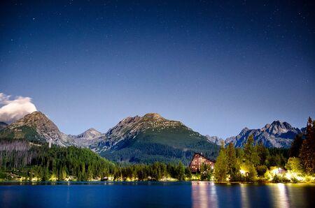 beautifull landscape panorama in Slovakia country Stock Photo