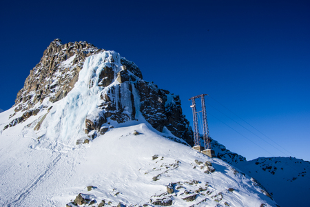 panoramatic view from Presena glacier