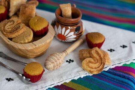 cute mini bread mexican sweet bakery clay pots