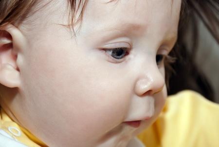 Close-up portrait of a sweet little boy  Soft focus Stock Photo - 12825919