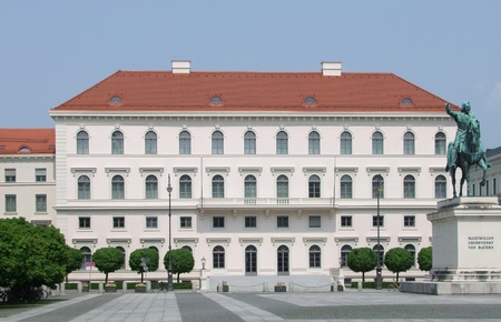 Building at the Wittelsbacherplatz in Munich named Palais Ludwig Ferdinand Stock Photo - 10820577