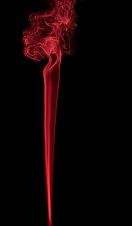 particulates: abstract background showing some red colored smoke in black background