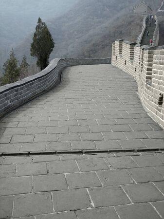 badaling: fotografia sulla Grande Muraglia della Cina nei pressi di Badaling