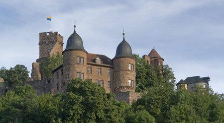 wertheim: Wertheim Castle in Southern Germany