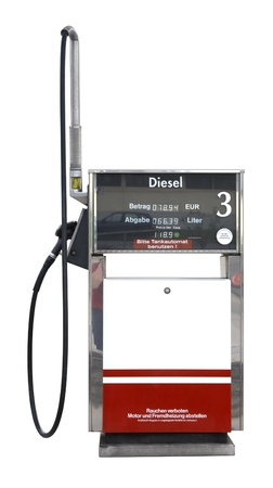 filling pump isolated on white Stock Photo - 10838816
