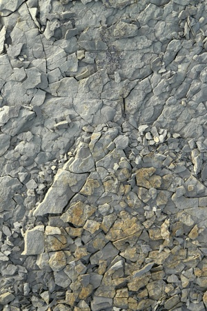 smithereens: full frame abstract broken stone surface