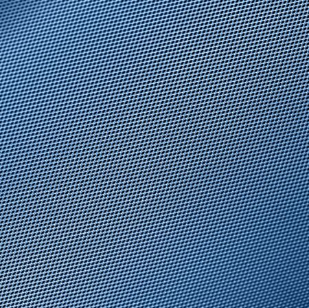 abstract full frame pattern showinh a blue toned metal grill photo