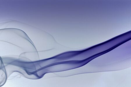wavily: abstract picture showing some blue colored smoke in gradient bluish back