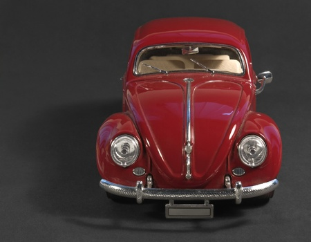 frontal studio photography of a red car Stock Photo - 10862347