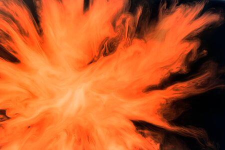 agleam: resumen de antecedentes radial de fuego con colores transl�cidos en la luz transmitida