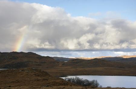 idyllic landscape in Scotland Stock Photo - 10862383
